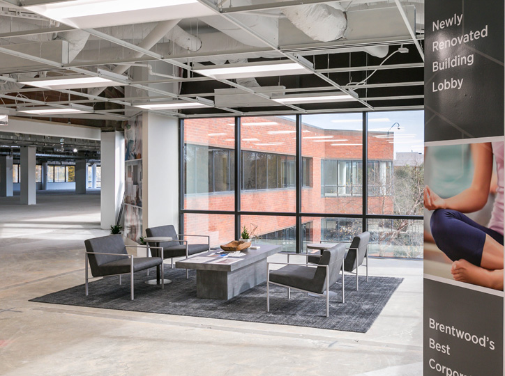 Tenant build-out   Open office